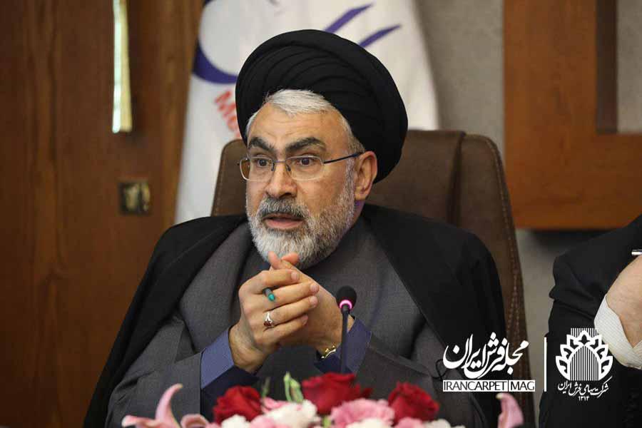 رییس هیئت مدیره شرکت فرش ایران در گفت و گو با رادیو جوان